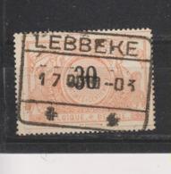 COB 19 Oblitération LEBBEKE - 1895-1913