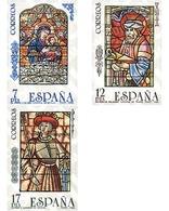 Ref. 85750 * MNH * - SPAIN. 1985. ARTISTIC STAINED GLASS WINDOWS . VIDRIERAS ARTISTICAS - Familias Reales