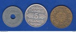 Tunisie  3  Pieces - Tunisia