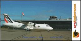 Airlinair Air France-KLM Airlines Aerospatiale ATR 42 F-GPYK Airways AirFrance ISSUE Franch At Bern Probelmpmoos - 1946-....: Era Moderna