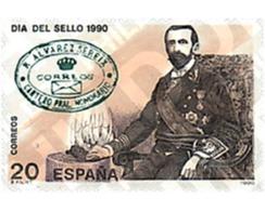 Ref. 85422 * MNH * - SPAIN. 1990. STAMP DAY . DIA DEL SELLO - Berufe