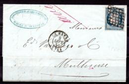 FRANCE - YT N° 4 Sur Lettre Complète Du 09 Sept 1851 - 1849-1850 Ceres