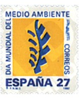 Ref. 85887 * MNH * - SPAIN. 1992. WORLD DAY OF THE ENVIRONMENT . DIA MUNDIAL DEL MEDIO AMBIENTE - Environment & Climate Protection