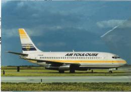 Air Toulouse  B737-200 Airlines F-GLXH B 737 Franch Avion Franch Aviation French B737 Aiplane B-737 France - 1946-....: Era Moderna