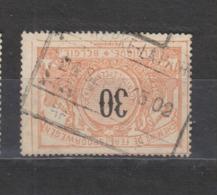COB 19 Oblitération ADINKERKE - LA PANNE - 1895-1913