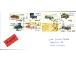 Ref. 273524 * MNH * - SPAIN. 2001. CARS . COCHES - 2001-10 Storia Postale