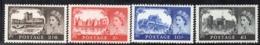 APR2404 - GRAN BRETAGNA 1967, Serie Castelli Unificato N. 502/505  ***  MNH  (2380A) . - 1952-.... (Elizabeth II)