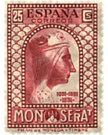 Ref. 209524 * HINGED * - SPAIN. 1931. 9th CENTENARY OF MONTSERRAT MONASTRY . 9 CENTENARIO DEL MONASTERIO DE MONTSERRAT - Nuovi