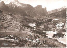 Environs De PELLAFOL-AMBEL (25) Vue Aérienne - Le Lac Du Sautet Et Le Faro En 1963  CPSM GF - Altri Comuni