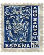 Ref. 209021 * MNH * - SPAIN. 1943. COMPOSTELA HOLY YEAR . AÑO SANTO COMPOSTELANO - Unclassified