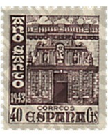 Ref. 209023 * MNH * - SPAIN. 1943. COMPOSTELA HOLY YEAR . AÑO SANTO COMPOSTELANO - Unclassified