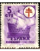 Ref. 208912 * MNH * - SPAIN. 1949. ANTI-TUBERCULOSIS . ANTITUBERCULOSIS - Bateaux