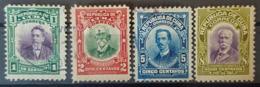 CUBA 1910 - MLH/canceled - Sc# 239, 240, 242, 243 - Kuba