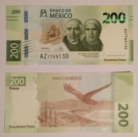 Mexico Banknote 200 Pesos NEW 2019  Hidalgo & Morelos Crisp Uncirculated - Mexico