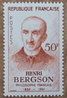 YT N°1225 - Henri Bergson, Philosophe - 1959 - Neuf - Neufs