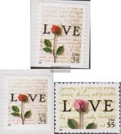 U.S. 3432BA-3434BA (complete Issue) Unmounted Mint / Never Hinged 2001 Grußmarken - Unused Stamps