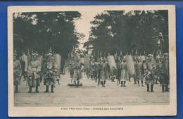 Fête Nam-Giao    Danses Aux Boucliers   Animées  écrite En 1946 - Vietnam