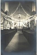 A Identifier - Carte Photo - Intérieur D'église - A Identifier