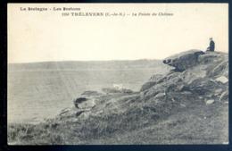 Cpa Du 22 Trélévern La Pointe Du Château Environs Perros Guirec    LZ124 - Perros-Guirec