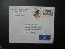 Lettre à Entête Entreprise Franzetti  Et Cie Sénégal  1973    Pour La Sté Générale En  France Paris - Sénégal (1960-...)