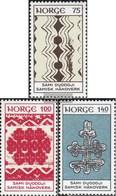 Norvegia 668-670 (completa Edizione) Usato 1973 Artigianato Fuori Lapponia - Noruega