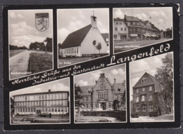 GERMANY  , LANGENFELD ,  AUTOBAHN  ,   OLD  POSTCARD - Langenfeld