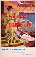 Reproduction D'une Photographieancienne D'une Affiche Publicitaire La Marque Antoinette De 1920 - Riproduzioni