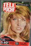 Télépoche Du 14 Sept 1966 Monica VITTI En Couverture  (PPP11354) - Fernsehen