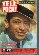 Télépoche Du 7 Dec 1966 HENRI SALVADOR En Couverture  (PPP11355) - Fernsehen