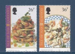 Ile De Man - Europa - Yt N° 971 Et 972 - Neuf Sans Charnière - 2001 - Isle Of Man