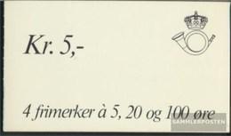 Norway 478y,481y,766 Stamp Booklet Unmounted Mint / Never Hinged 1962 Clear Brands: Horn - Norwegen