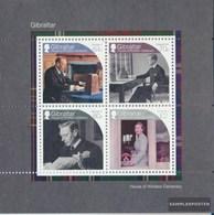 Gibraltar Block128 (complete Issue) Unmounted Mint / Never Hinged 2017 Renaming British. Königshaus - Gibraltar