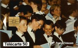 Télécarte FRANCE TELECOM - MAITRISE Des HAUTS DE SEINE  50 U SO3 - 01/97 Utilisée - Musique