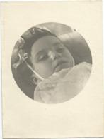 Photographie Enfant Mort Décédé ? Photo 9x12 Cm - Personnes Anonymes