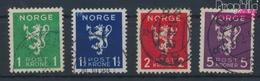 Norvège 207-210 (complète.Edition.) Oblitéré 1940 Lion (9340175 (9340175 - Norvège