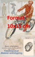 Reproduction D'une Photographieancienne D'une Affiche Publicitaire Pneu Continental Gummi-antislipping De 1920 - Riproduzioni