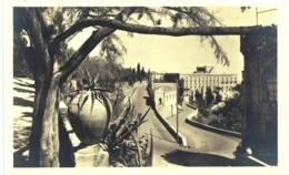 Italie - Taormina Strada Di Taormina E Hotel Castello A Mare - Andere Steden