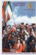 Mestieri - Polizia Di Stato - Trieste 4.11.2004 - 50° Anniversario Ritorno Di Trieste All'Italia - - Polizia – Gendarmeria