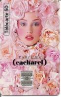 Télécarte PARFUM CACHAREL 50 U SC7 - 08/96 Utilisée - Perfume