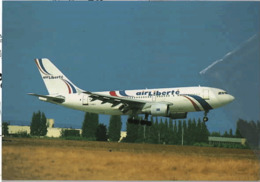 Air Liberté A310 Airlines F-GHEJ Franch Avion Liberté Franch A.310 Aviation French  France A-310 Liberte - 1946-....: Era Moderna
