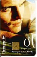 Télécarte PARFUM LANCOME POUR HOMME 50 U GEM - 09/96 Utilisée - Moda