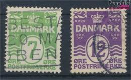 Dänemark 166-167 (kompl.Ausg.) Gestempelt 1926 Wellenlinien (9341626 - 1913-47 (Christian X)