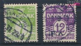 Dänemark 166-167 (kompl.Ausg.) Gestempelt 1926 Wellenlinien (9341627 - 1913-47 (Christian X)