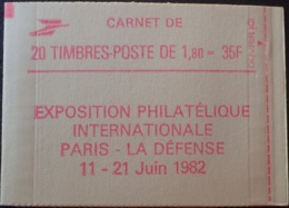 R1703/724 - TYPE LIBERTE DE DELACROIX - CARNET NEUF** Fermé N°2220-C7 - Markenheftchen