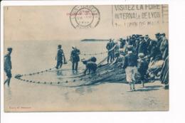 Carte De Gruissan  La Trainé ( Filet De Pêche )( Recto Verso ) - Autres Communes