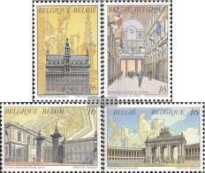 Belgium 2694-2697 (complete Issue) Unmounted Mint / Never Hinged 1996 Brussels, Heart Europe - Belgium