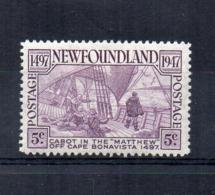 CANADA - (1947 - Province - NEWFOUNDLAND) - Caboto - Scoperta Di Terranova - Nuovo - Linguellato - (FDC16969) - 1908-1947