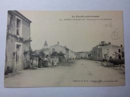 MAREUIL SUR LE LAY-Entrée Par La Route De Luçon - Mareuil Sur Lay Dissais