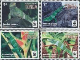 Tonga 2098-2101 (complete Issue) Unmounted Mint / Never Hinged 2016 Kurzkammleguan - Tonga (1970-...)