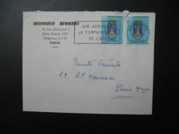 Lettre à Entête Mohamed Bennani Sénégal Dakar  1970    Pour La Sté Générale En France   Bd Haussmann   Paris - Sénégal (1960-...)